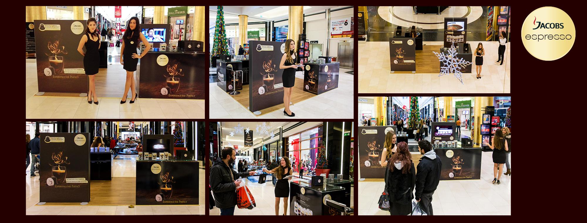 9d608b8e4fe Jacobs Espresso Pop Up at Golden Hall | Sales Promotion Center