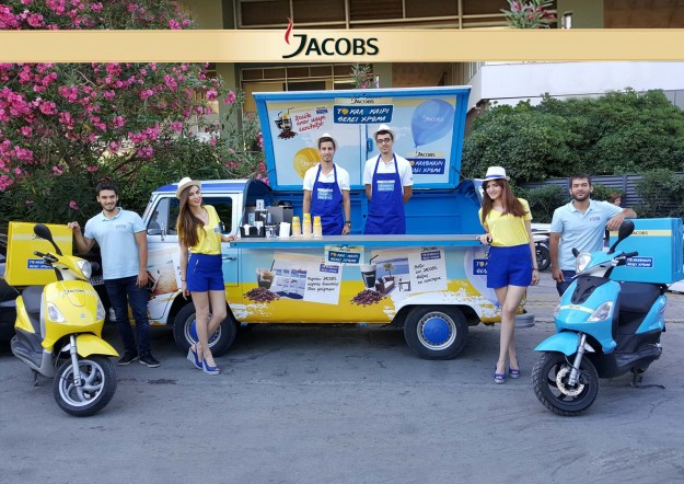 """Jacobs Cold Summer Activation for the """"Colorful Summer"""" campaign"""