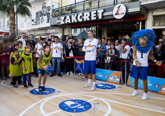 The Big Basket event NOYNOY with Dimitris Diamantidis!